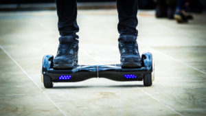 hoverboard banchine